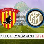 Benevento Inter cronaca diretta live risultato in tempo reale