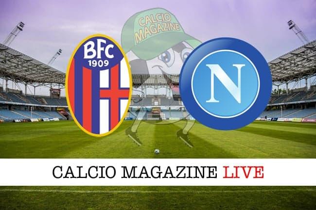 Bologna Napoli cronaca diretta live risultato in tempo reale