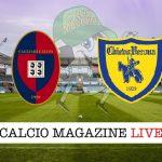 Cagliari Chievo cronaca diretta risultato tempo reale