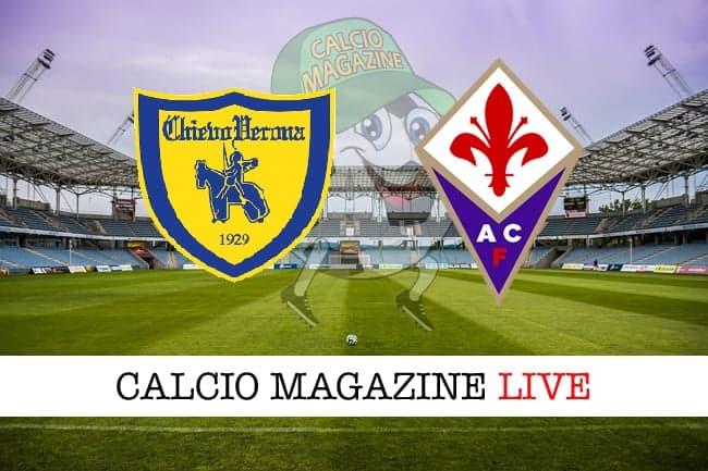 Chievo Fiorentina cronaca diretta live risultato in tempo reale