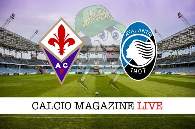 Fiorentina Atalanta live cronaca risultato in tempo reale