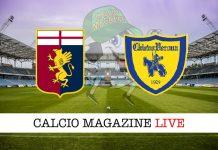 Genoa ChievoVerona risultato tabellino diretta