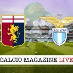Genoa Lazio cronaca diretta live risultato in tempo reale