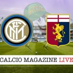 Inter Genoa cronaca diretta live risultato in tempo