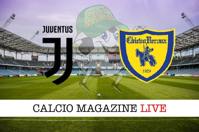 Juventus Chievo cronaca diretta risultato tempo reale