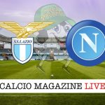 Lazio Napoli cronaca diretta risultato live