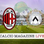 Milan Udinese cronaca diretta live risultato in tempo reale