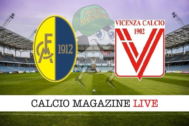 Modena-Vicenza 1-2, il tabellino: biancorossi in testa al campionato