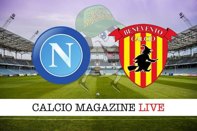 LA PARTITA - Napoli-Benevento 6-0, azzurri show nel derby campano