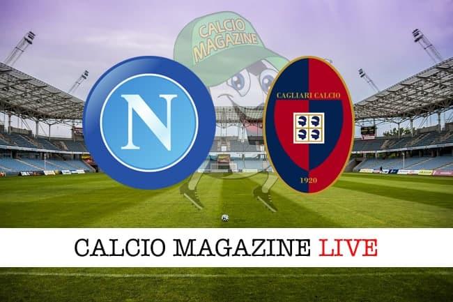 Napoli Cagliari cronaca diretta live, risultato in tempo reale