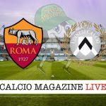 Roma Udinese cronaca diretta live risultato tempo reale