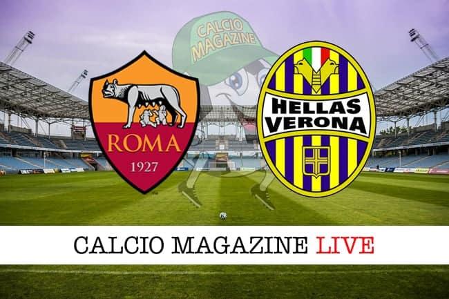 Roma-Verona 3-0, Dzeko e Naingollan annientano il Verona