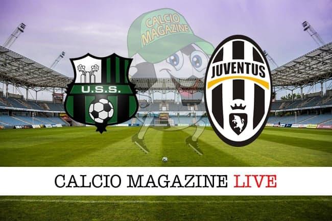 Sassuolo Juventus cronaca diretta risultato in tempo reale
