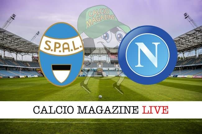 Spal Napoli cronaca diretta live risultato in tempo reale