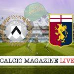 Udinese Genoa cronaca diretta live risultato in tempo reale