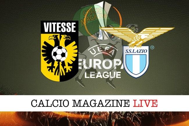 Vitesse-Lazio: probabili formazioni, cronaca e risultato in tempo reale