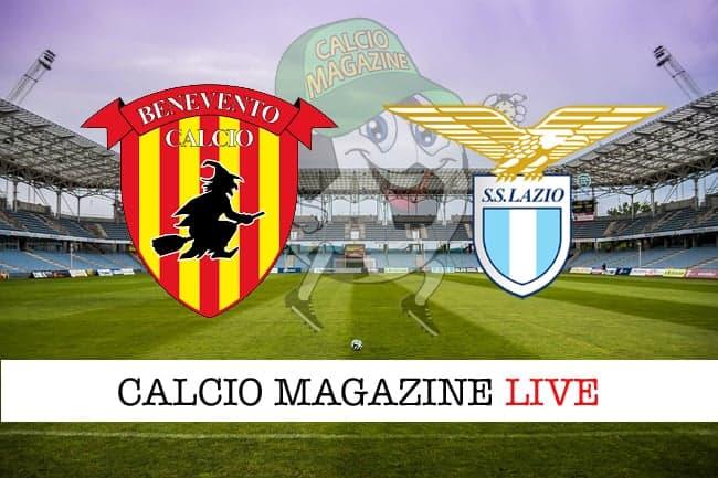 Benevento-Lazio: probabili formazioni, cronaca e risultato in tempo reale