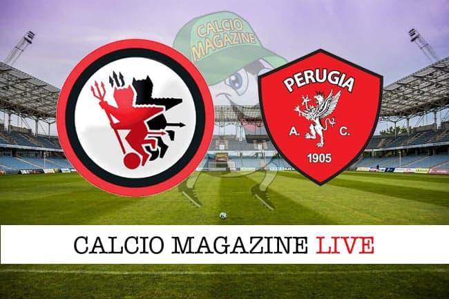 Foggia-Perugia 2-1, il tabellino: risultato finale e cronaca della partita