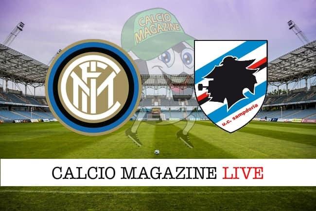 Inter Sampdoria cronaca diretta live risultato in tempo reale