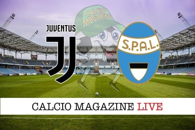 Juventus Spal cronaca diretta live risultato tempo reale