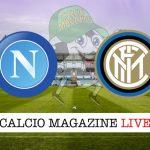 Napoli Inter cronaca diretta risultato in tempo reale
