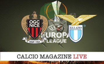 Nizza-Lazio 1-3, il tabellino: vittoria in rimonta per i biancocelesti