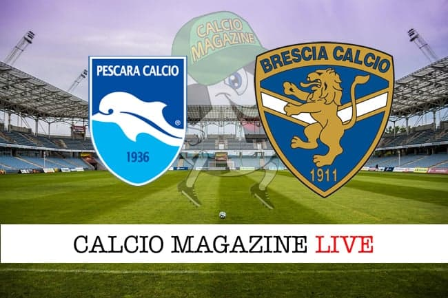 Pescara-Brescia 0-3, il tabellino: cronaca e risultato finale