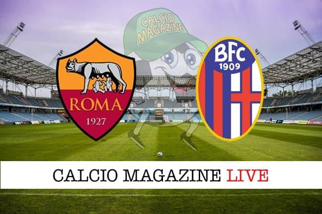 Roma Bologna cronaca diretta risultato in tempo reale