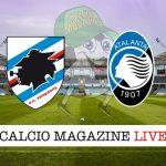 Sampdoria Atalanta cronaca diretta live risultato in tempo reale