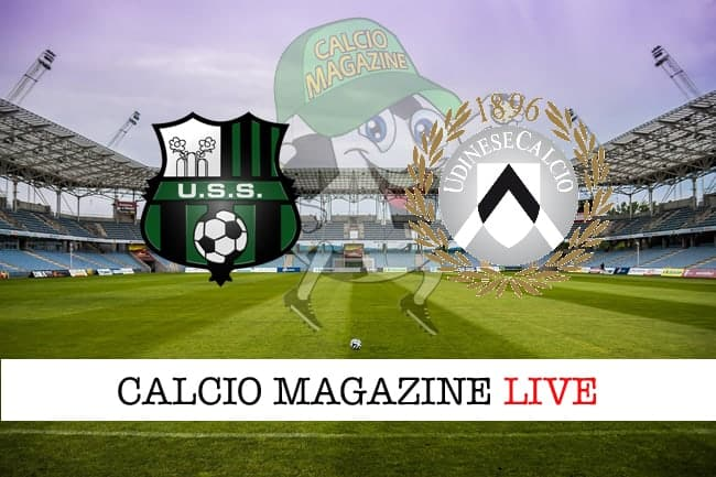 Sassuolo Udinese cronaca diretta live risultati in tempo reale