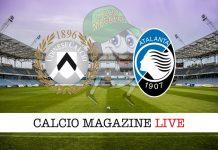 Udinese Atalanta cronaca diretta live risultato in tempo reale