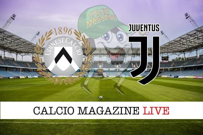 Udinese Juventus cronaca diretta live risultato in tempo reale