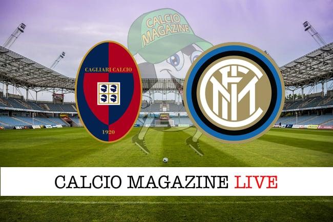 Cagliari Inter cronaca diretta live risultato in tempo reale