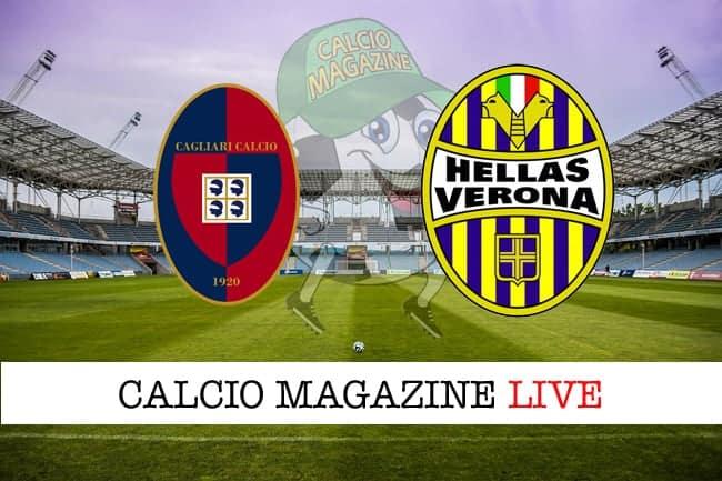Cagliari Verona cronaca diretta live risultato in tempo reale