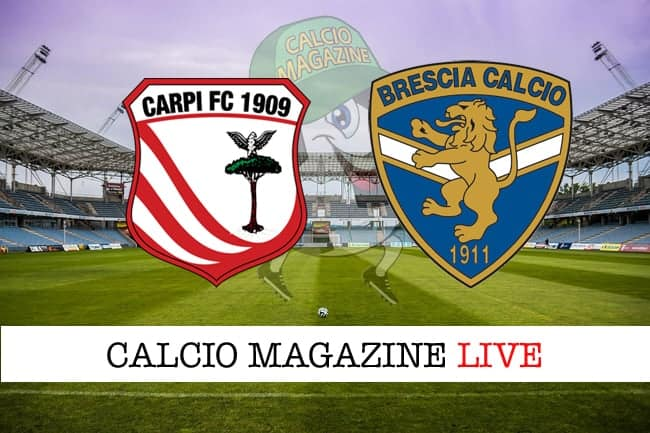Carpi-Brescia 1-1, tabellino
