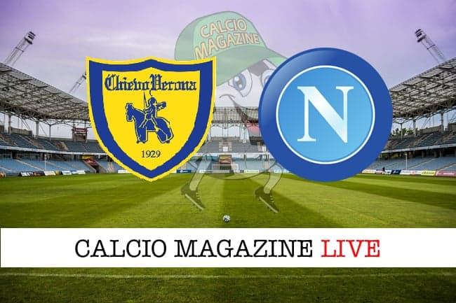 Chievo Napoli cronaca diretta live risultato in tempo reale