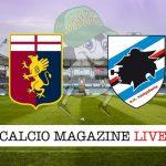 Genoa Sampdoria cronaca diretta live risulato in tempo reale