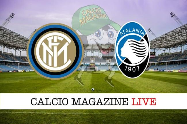 Inter Atalanta cronaca diretta live risultato tempo reale