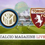 Inter Torino cronaca diretta risultato tempo reale