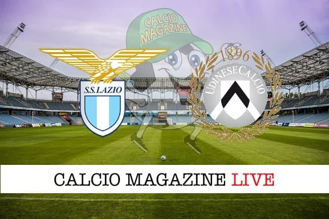 Lazio Udinese cronaca diretta live risultato in tempo reale