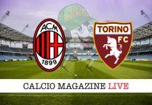 Milan Torino cronaca diretta live risultato tempo reale