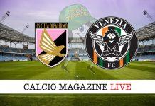 Palermo Venezia cronaca diretta risultati tempo reale
