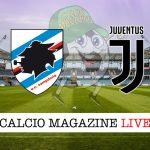 Sampdoria Juventus cronaca diretta live risultato in tempo reale