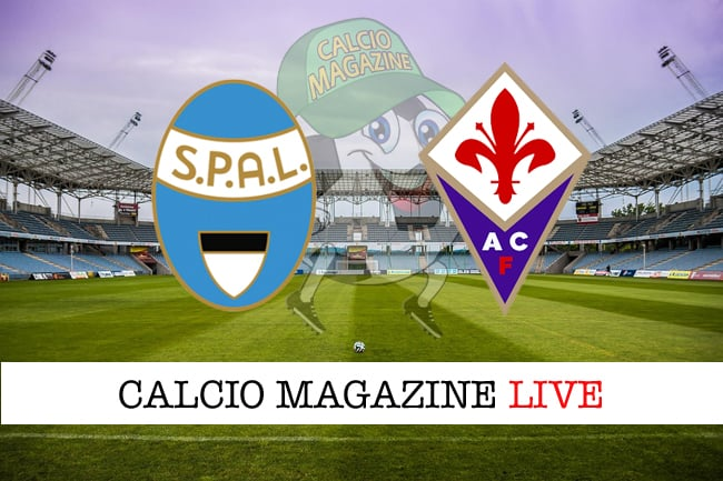 Spal Fiorentina cronaca diretta live risultato in tempo reale