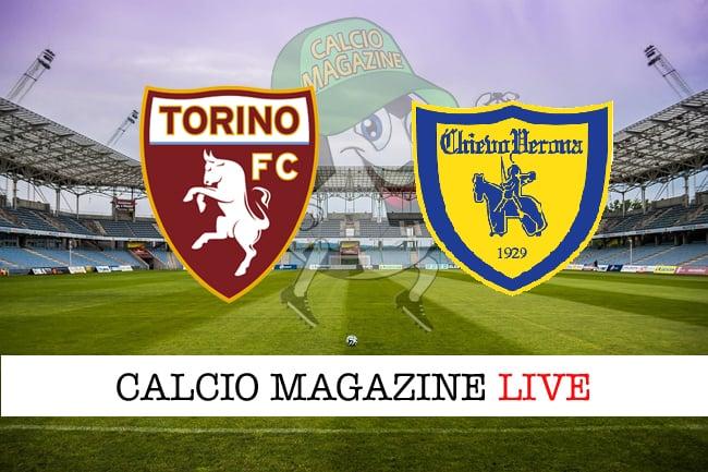 Torino Chievo cronaca diretta live risultato tempo reale