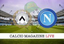 Udinese Napoli cronaca diretta risultato tempo reale