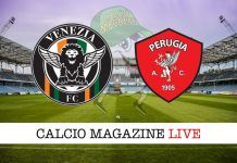 Venezia Perugia cronaca diretta risultato tempo reale