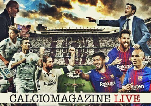 Real Madrid-Barcellona cronaca diretta, risultato in tempo reale