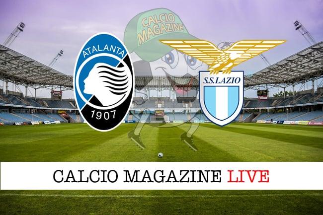 Atalanta Lazio cronaca diretta live risultato in tempo reale