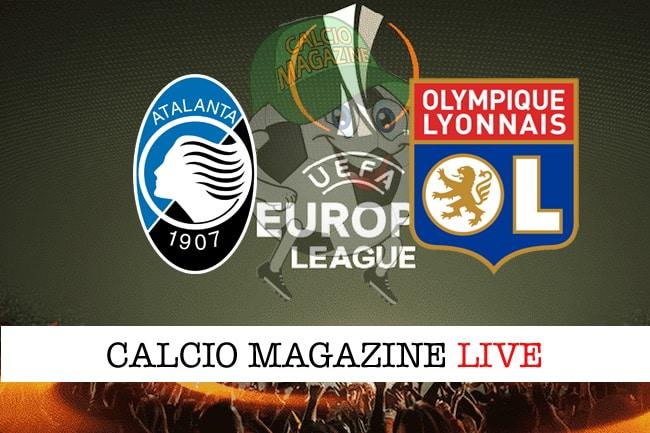 Atalanta-Olympique Lione, Gasperini: